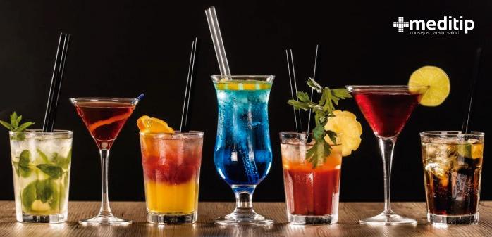 Causas de la resaca: congéneres, bebidas alcohólicas