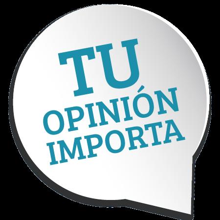 tu opinión es importante