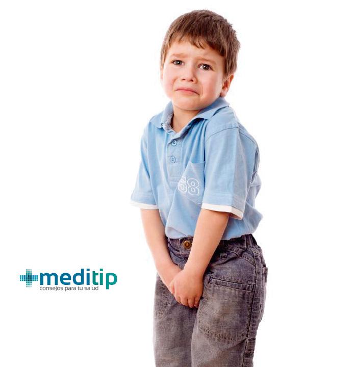 Diabetes insípida: niño con ganas de orinar frecuentemente